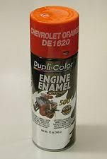 dupli color de1620 chevy orange engine spray paint ebay