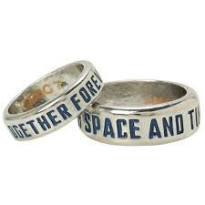 hot topic wedding band doctor who tardis his hers ring set hot topic 11 liked