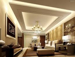 fall ceiling in living room