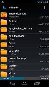 android file manager apk ics file manager android apps on play