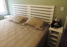 Pallet Bed Frame Plans 6 Diy Pallet Bed Ideas With Headboards 99 Pallets