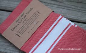 what u0027s good at trader joe u0027s trader joe u0027s cotton kitchen towels