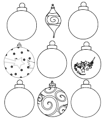 nine ornaments outline clip at clker vector clip