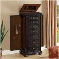 Tall Jewelry Armoire Tabletop Jewelry Armoire Express Air Modern Home Design