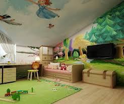 dessin chambre enfant fresque murale dans la chambre d enfant 35 dessins joviaux