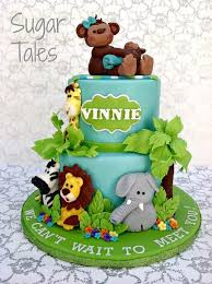 safari cake toppers jungle themed cakes and cupcakes inspiration