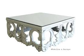 jofran baroque end table baroque coffee table baroque coffee table ivory baroque coffee table