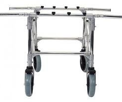 funeral supplies transport trolley coffin folding extendable lab001 auden
