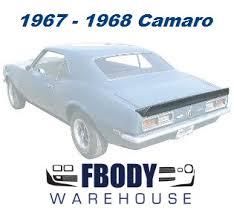 1969 camaro rear spoiler fbodywarehouse 1967 1969 camaro firebird exterior