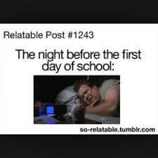 School Starts Tomorrow Meme - back to school joke kappit