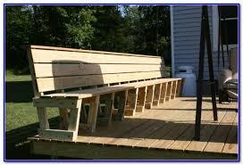 simple deck bench plans decks home decorating ideas avmawrp3kw