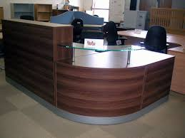 Reception Desk Furniture Second Walnut Reception Desk New Office Pinterest