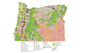 timber oregon map oregon map