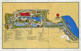 Tennessee State Parks Map by Map Of The 1982 World U0027s Fair Grounds At Knoxville Tn I Went To