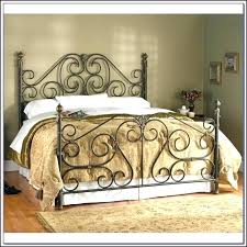 Rod Iron Headboard White Rod Iron Headboard Luisreguero
