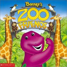 barney u0027s zoo friends board book nancy parent 9781586682330