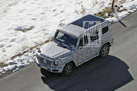 all new 2018 mercedes g class spied in the alps mercedesblog