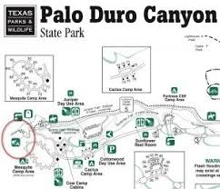 bastrop state park map best 25 palo duro state park ideas on