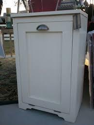 wood tilt out trash bin cabinet best cabinet decoration