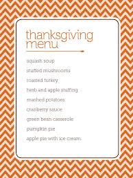 printable menus for thanksgiving happy thanksgiving