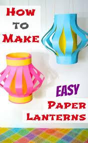 20 diy paper lanterns ideas making flowers