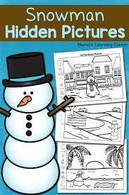 77 best snowman printables and activities images on pinterest