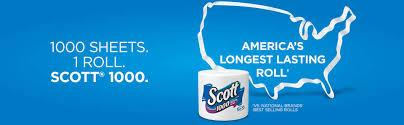 Scottish Bathroom Signs Scott One Ply Bathroom Tissue 20 Count Walmart Com