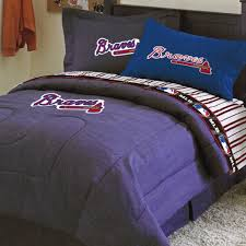 Baseball Comforter Full Atlanta Braves Bedding Comforter Bed Sheets Accessories