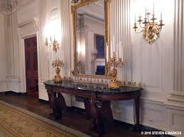 White House Dining Room by President U0027s Park White House White House Tour State Floor Rooms