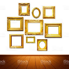 Picture Frame On Wall by Frame Wall Stock Photo 485052756 Istock
