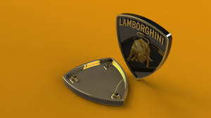 lamborghini badge lamborghini logo emblem another render by lamuz on deviantart