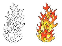 fire flame tattoo outline pictures to pin on pinterest tattooskid