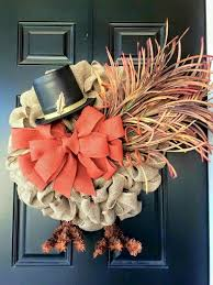 25 unique turkey wreath ideas on door wreaths