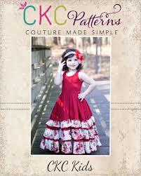 alejandra u0027s ruffled maxi dress pdf pattern