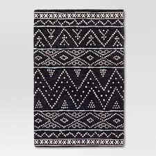 2 x 3 accent rugs navy woven accent rug 2 x3 threshold target