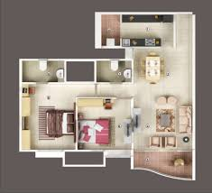 2 bhk flat design plans floor plan vascon engineers ltd forest county at kharadi pune