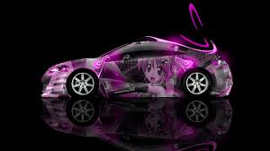 pink mitsubishi eclipse mitsubishi eclipse jdm side anime aerography car 2014 el tony