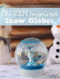 traditions and a snow globe diy inspired by disney s frozen