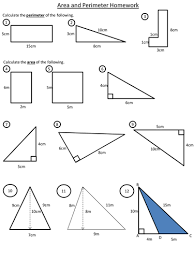 Free Printable Perimeter And Area Worksheets Area And Perimeter By Dannytheref Teaching Resources Tes