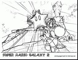 surprising super mario galaxy coloring pages with super mario