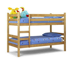 Julian Bowen Wyoming Pine Wooden Bunk Bed From  Beds Direct - Kids wooden bunk beds