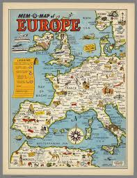 Cannes Map by Mem O Map Of Europe By Drury 1946 Map Europe Interesting Maps
