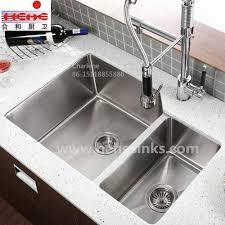 undermount double kitchen sink china undermount double bowl handmade sink stainless steel