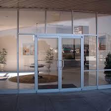 metal door with glass doors fox glass company east