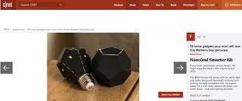 home gadgets 2016 cnet gadgets mom will love nanoleaf me