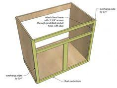 How To Build A Cabinet Box Ana White Build A Wall Kitchen Cabinet Basic Carcass Plan Free