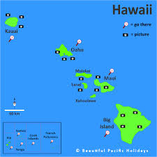 map of hawaii island map of hawaii islands in the south pacific islands