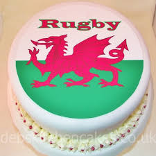 welsh rugby wedding cake topper melitafiore
