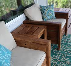 Homemade Patio Furniture Plans by Patio Ideas Outdoor Wood Furniture Paint Or Stain Wooden Patio