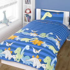 construction childrens boys duvet cover quilt bedding set blue